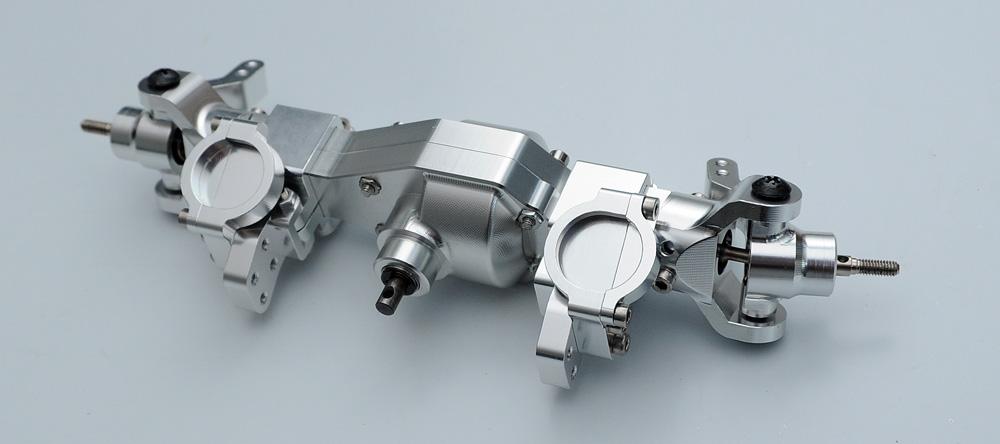 Hard stainless steel center main shaft tamiya cr01 cr-01 22 crawler axial ax10