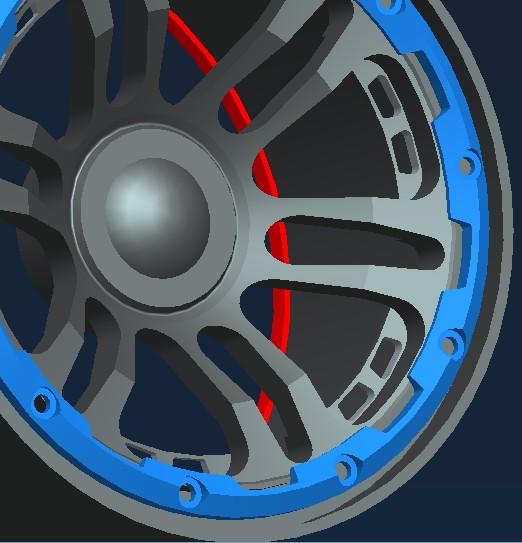 Spyder Edition Beadlock Wheels for HPI Baja Buggy - RC4WD Forums