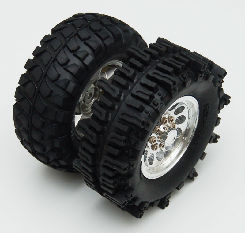 Best Mud Tires >> Details About Rc4wd Mud Slingers Single 1 9 Tires Z P0016 Spare Tyre Slinger